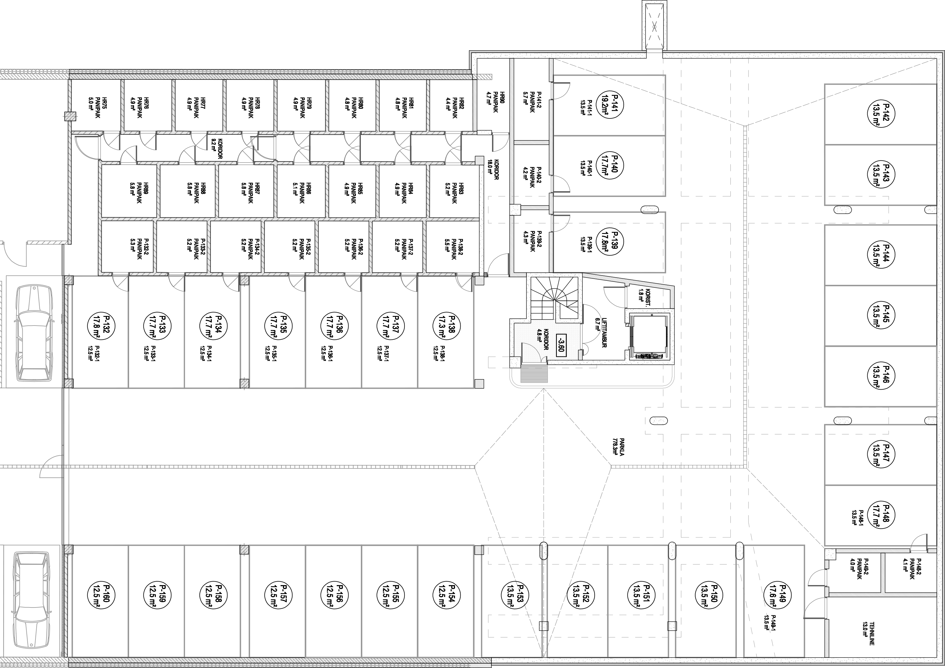 Floor 0 plan of Tuukri 25 Apartment House