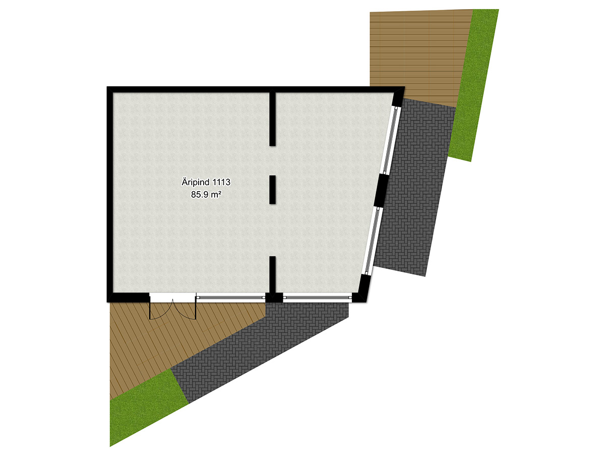 Apartment no 1113 plan