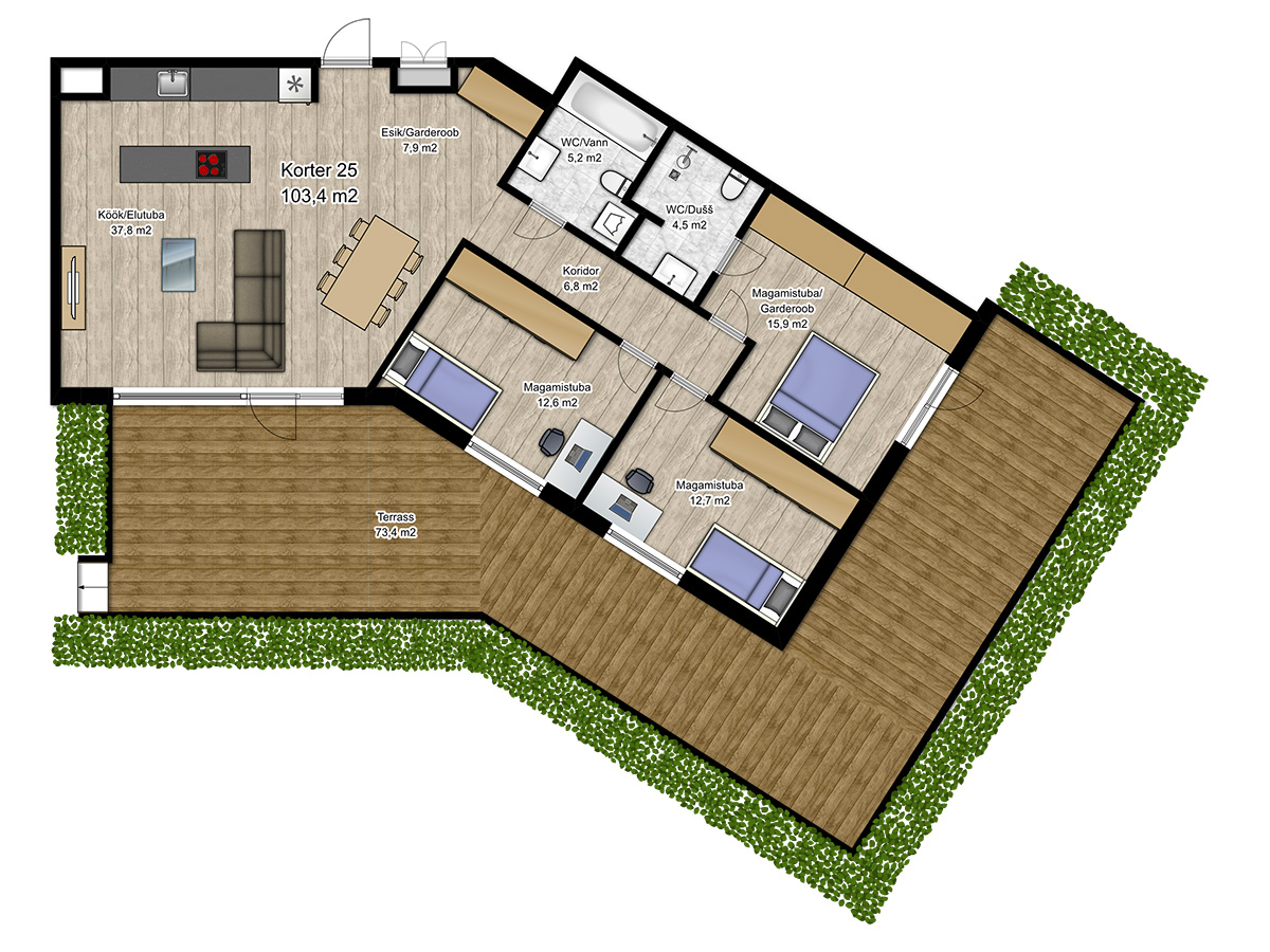 Apartment no 25 plan