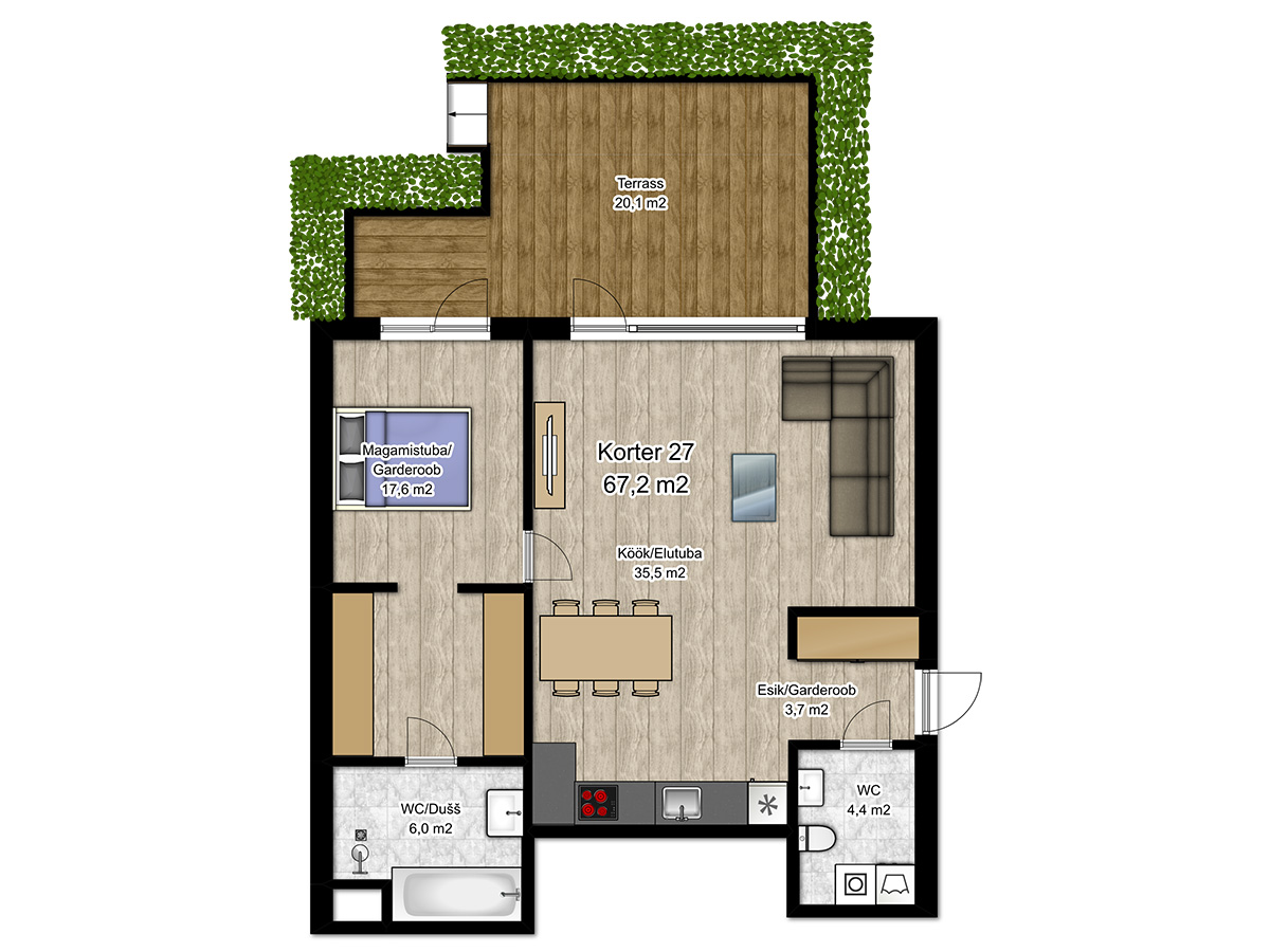 Apartment no 27 plan